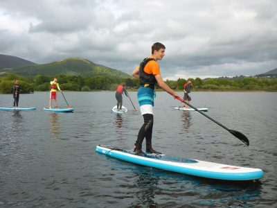 SUP stand up paddleboarding