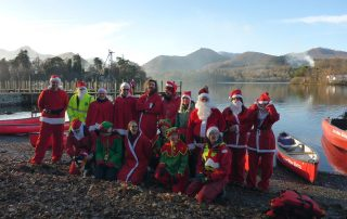Santa Cruz Group at Derwent Water
