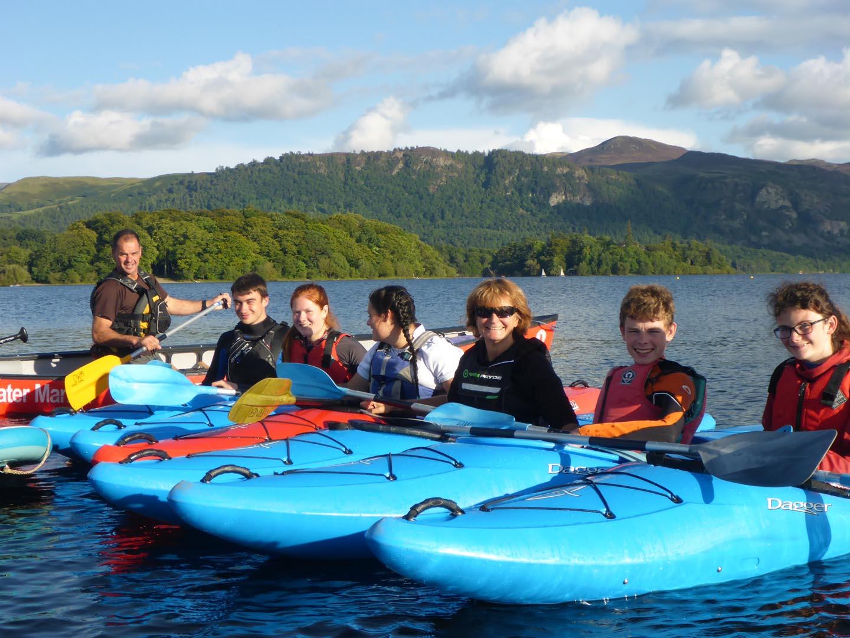 Kayaking in Lake District