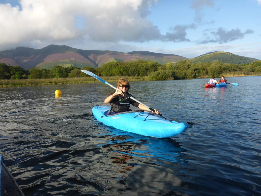 Kayak on Derwent Water