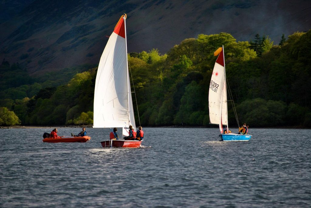 Sailing on Derwent Water