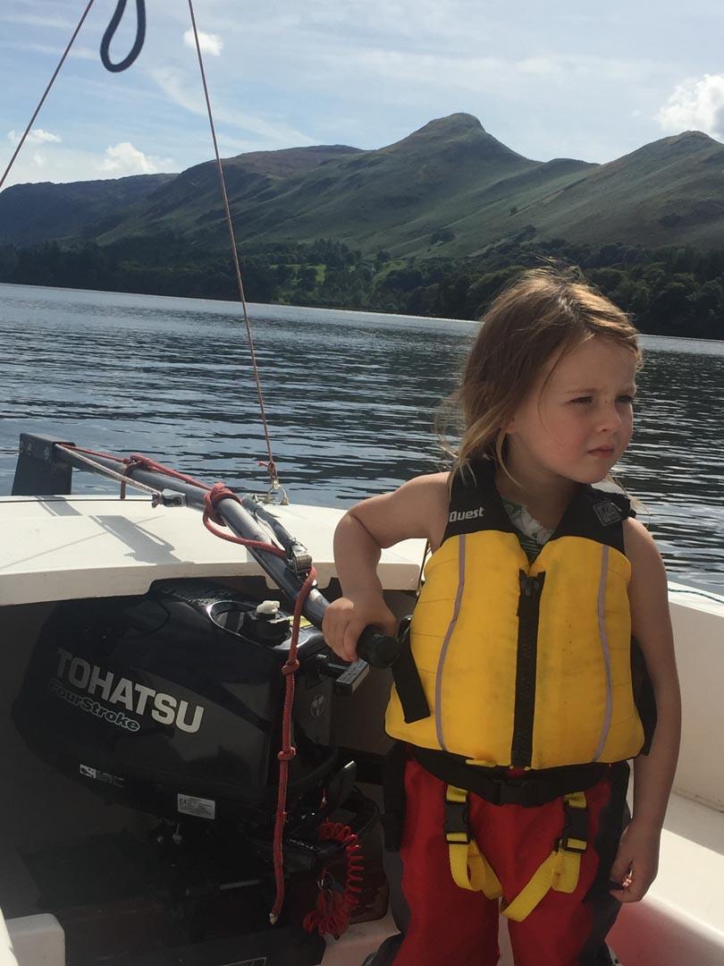 Sailing on Derwent Water