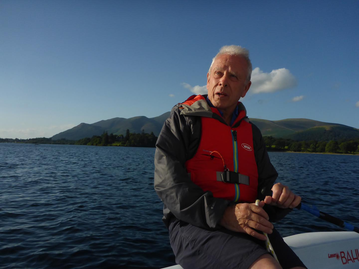 On the lake at Derwent Water