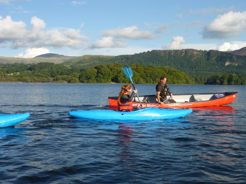 Canoe, Kayak on Derwent Water