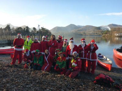 Santa Cruz Group at Derwent Water